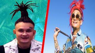 как сделать пальму на голове из волос