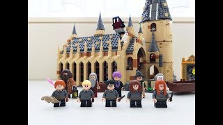 那个大难不死的男孩儿回来了Lego Harry Potter 75954   巴特曼动手玩儿