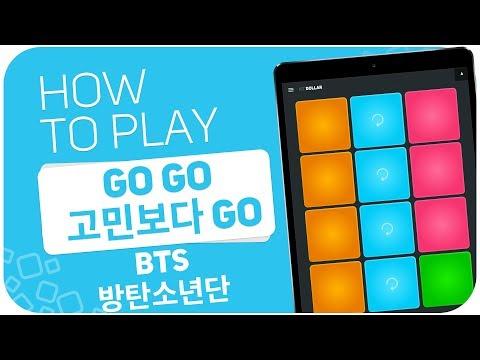 How to play: Go Go (고민보다 Go) (BTS (방탄소년단)) - SUPER PADS - Kit DOLLAR