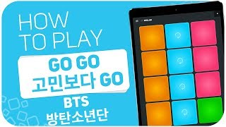 How to play: Go Go (고민보다 Go) (BTS (방탄소년단)) - SUPER PADS - Kit DOLLAR