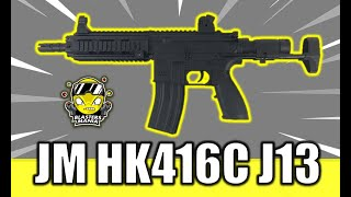 JM HK416C J13 (Unboxing, Review and FPS Testing) - Blasters Mania