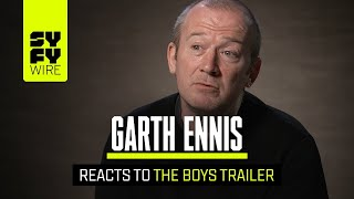 Garth Ennis Has Seen The Boys TV Show: Here's What He Thinks | SYFY WIRE