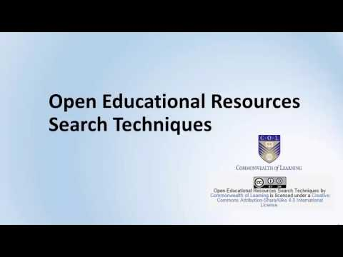 OER Search Techniques