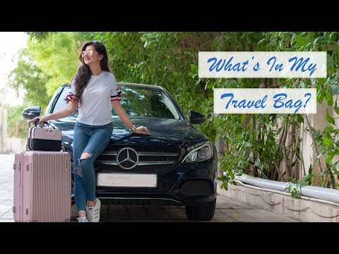 What's In My Travel Bag? + GIVEAWAY