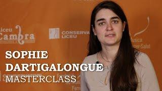 Masterclass amb Sophie Dartigalongue - Cicle Liceu Cambra