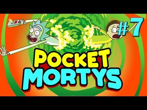 Все рецепты и список эволюций - Pocket Mortys - #7