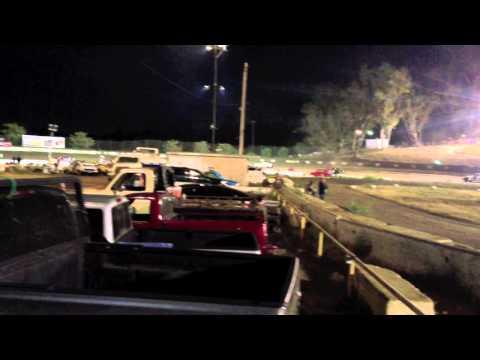 Santa Maria Speedway Hobby Stock Main Event, #73 Camaro 7-20-13