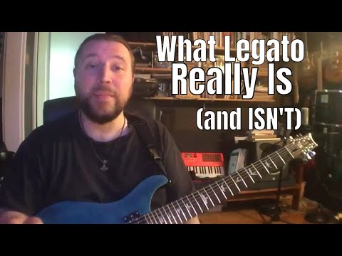 What Legato Is (and Isn't) - How You've Been Misinformed as a Guitarist