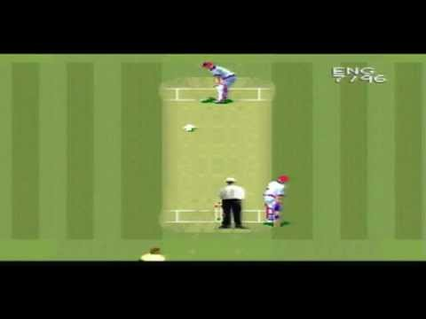 SNES - Super International Cricket - T20 - England vs Australia