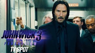 """John Wick: Chapter 3 – Parabellum (2019 Movie) Official TV Spot """"Back"""" – Keanu Reeves, Halle Berry"""