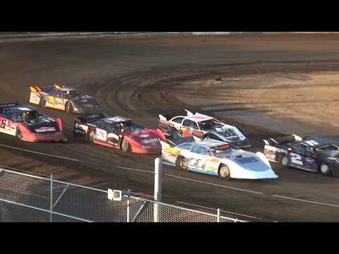 IMCA Late Model Heats Independence Motor Speedway 8/19/17