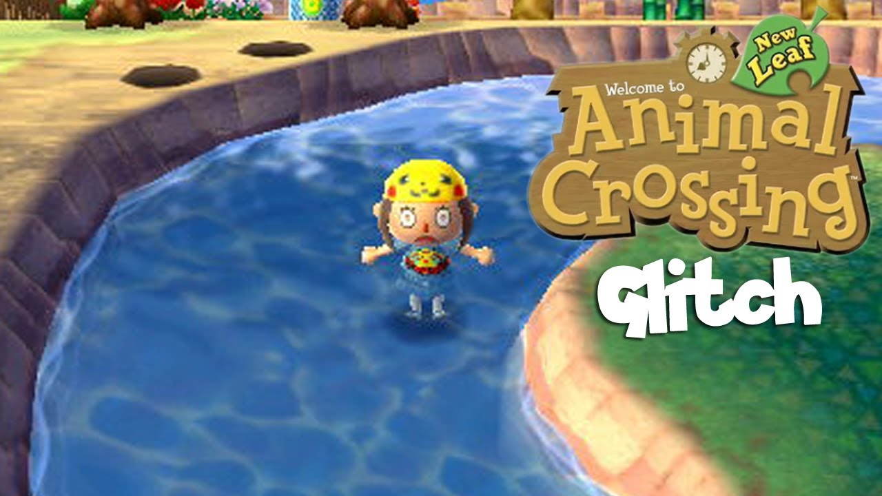 Animal Crossing New Leaf Glitch! Swimming in Rivers
