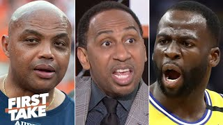 Stephen A. sounds off on the beef between Draymond Green and Charles Barkley   First Take