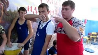 """Закулисье на соревнованиях по тяжёлой атлетике """"Юный атлет"""""""