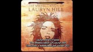 Lauryn Hill Ex-Factor -