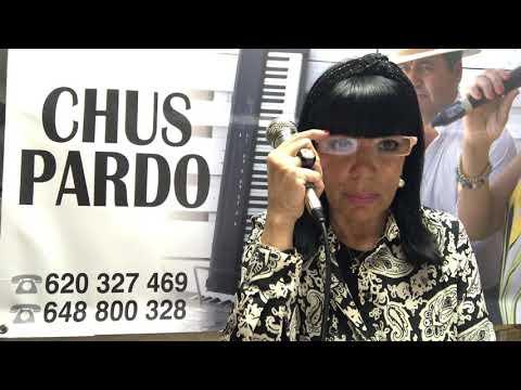 Chus Pardo, una cantante muy activa