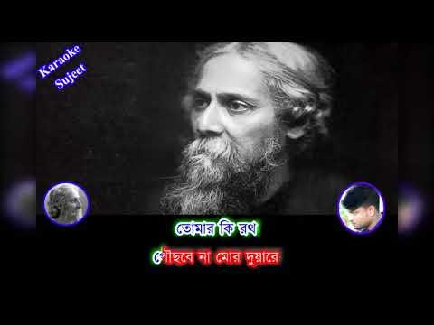 Bhenge Mor Ghorer Chabi Karaoke | Rabindra sangeet | Karaoke with Lyrics