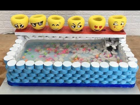 Interesting ideas with cement || Fish tank, Foot sock, Emoji || Garden decoration