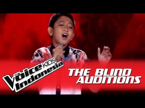 "Era Bima ""Bukan Rayuan Gombal"" I The Blind Auditions I The Voice Kids Indonesia GlobalTV 2016"