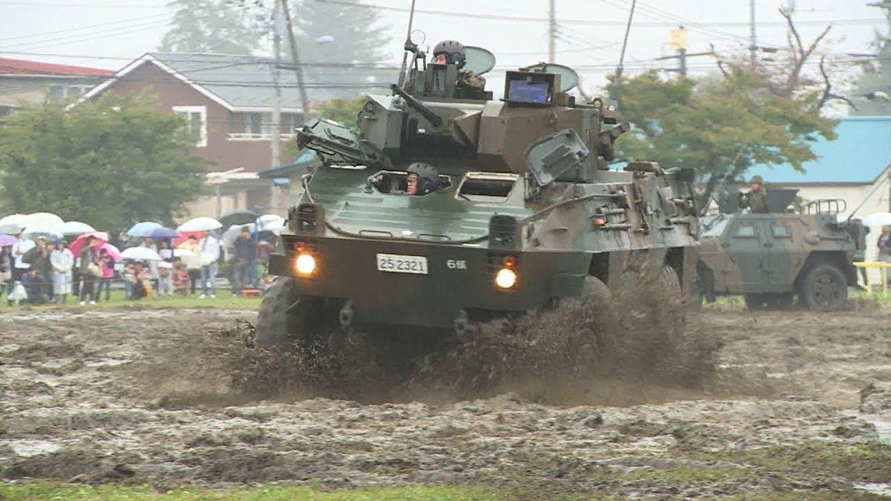第6偵察隊訓練展示 大和駐屯地62...