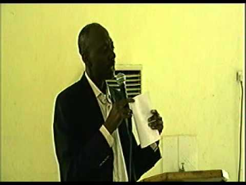 2009 Conference (Pastor Afolayan - Office Administration)