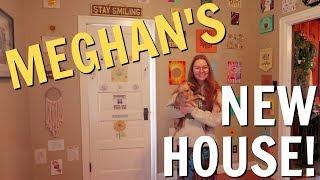 VISITING MEGHAN'S NEW HOUSE!   SISTER VLOG