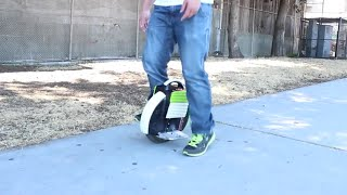 How to ride Airwheel very easy