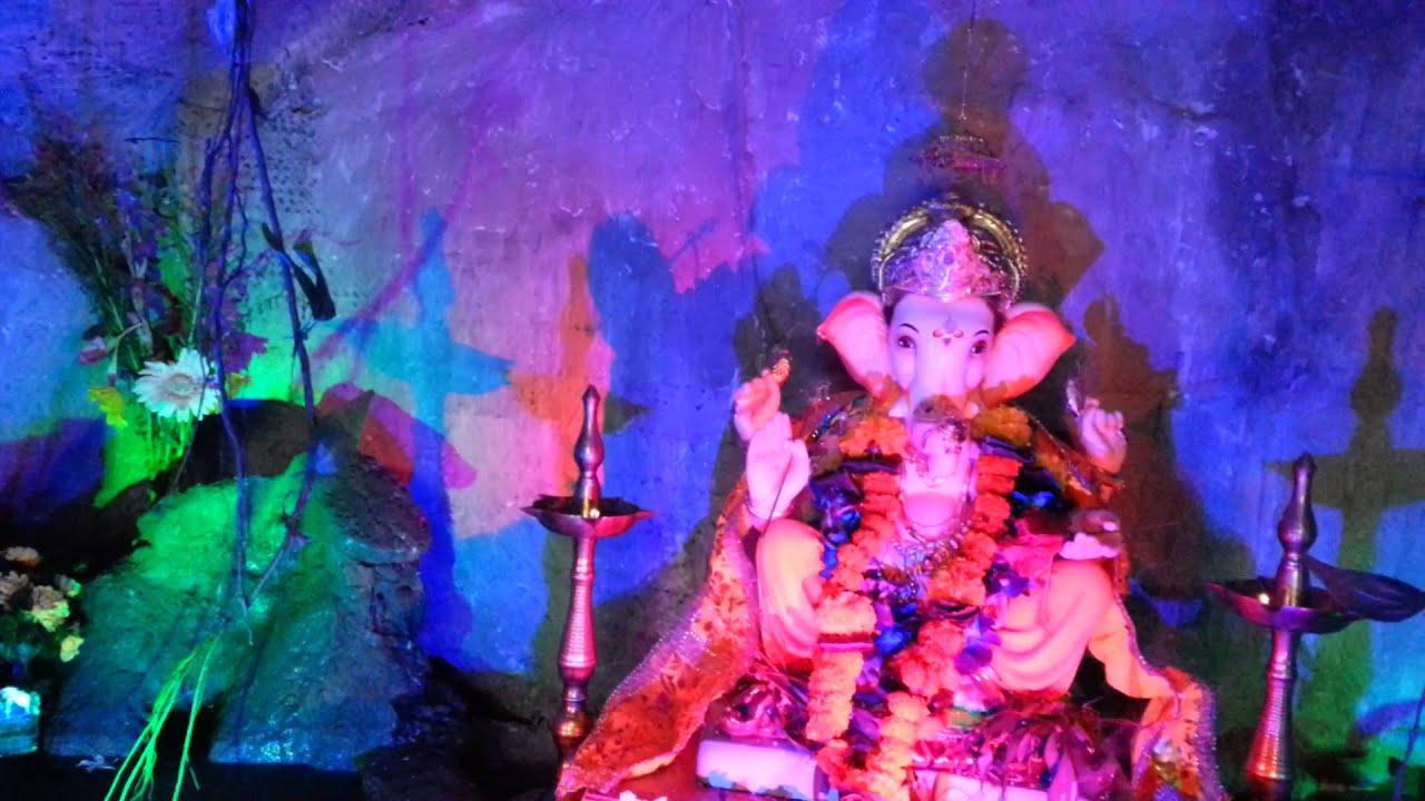 Ganpati Decoration Cave Youtube
