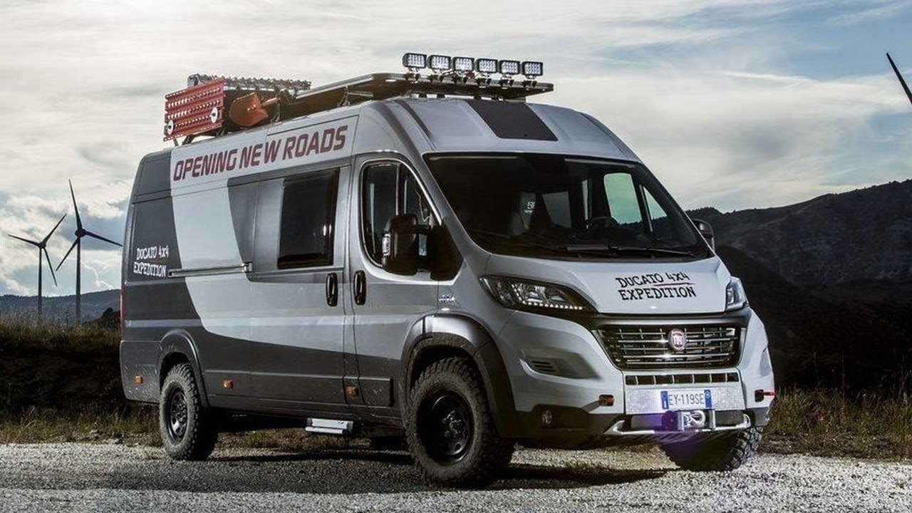 amazing fiat ducato 4x4 expedition camper van furious. Black Bedroom Furniture Sets. Home Design Ideas
