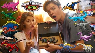 Power Rangers Dino Super Charge DIECAST ENERGEMS BY DOZIER STUDIOS REVIEW