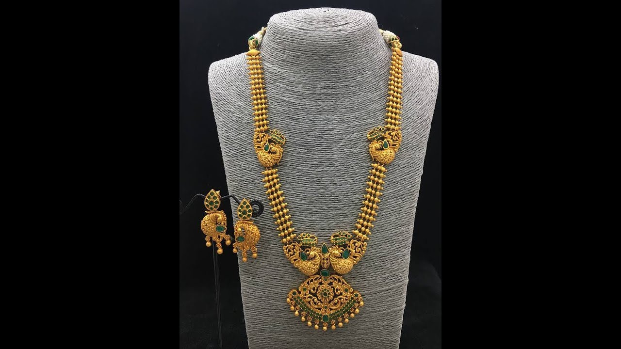 guarantee pendant temple designer ruby cz pendent copy beads gold products of collections set with yr mangalsurta collection black polish stri necklace sets