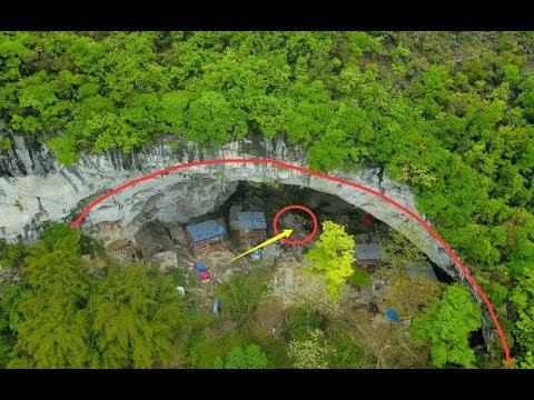 贵州一山洞里,竟然隐藏着一个与世隔绝的世外桃源,男耕女织