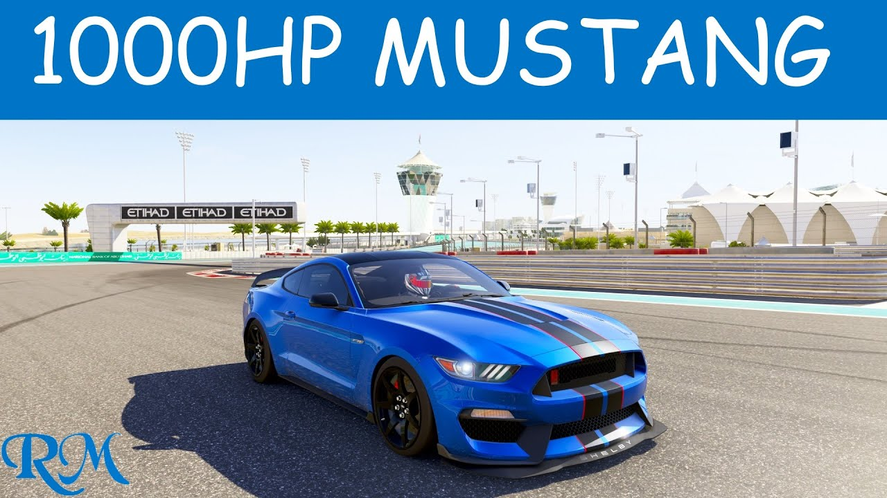 forza 6 2016 ford shelby mustang gt350r top speed youtube. Black Bedroom Furniture Sets. Home Design Ideas