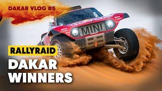 Dakar 2020: Victory Burnouts and Podium Celebrations | Dune Days #5