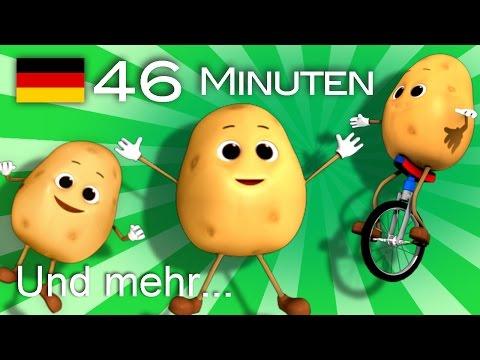 Kartoffel Lied | Und noch viele weitere Kinderlieder | von LittleBabyBum