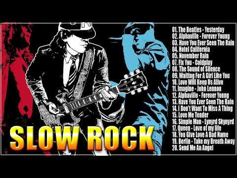 Bon Jovi, Scorpions, LedZeppelin, U2, Aerosmith Greatest - Slow Rock Ballads Collection