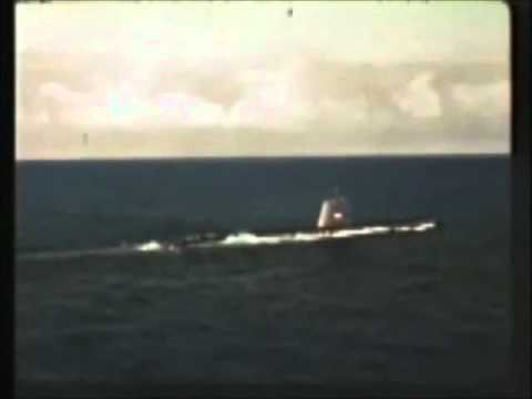 1962 ASROC Navy Nuclear Tests from USS Agerholm DD826