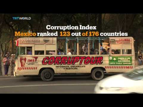 Money Talks: Corruption bus tours hit Mexican streets