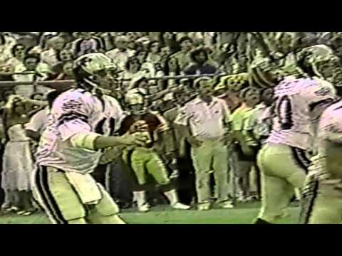 1997 Video Bio of Michigan Panthers QB Bobby Hebert