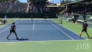 J10S Top Doubles Points - College Tennis 2018