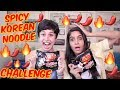 The Spicy Korean Noodle Challenge With Rickshawali