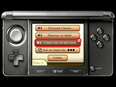 Video l'Audio guide Louvre - Nintendo 3DS