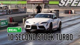10 Second Stock Turbo 2020 MKV Supra - Real Street Performance