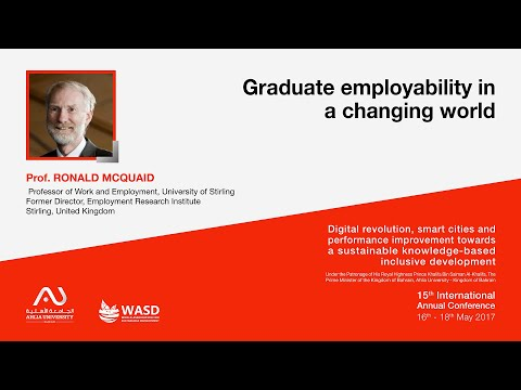 Graduate employability in a changing world