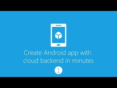 Create Android App With Cloud Backend (Part 1: Azure Mobile Service)