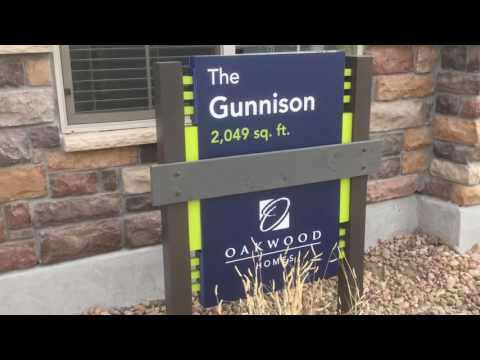The Gunnison Model by Oakwood Homes at Green Valley Ranch in Denver Colorado