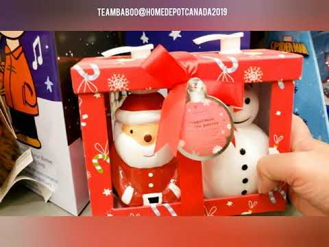 Home Depot Canada Christmas Decoration Shopping