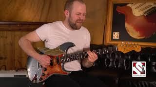 2020 Fender Stratocaster 63 Ultimate Relic Masterbuilt Carlos Lopez  Guitar  Demo