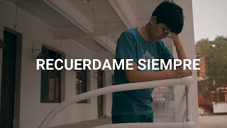 RECUERDAME SIEMPRE💔😔 Rap triste 2020😭 - Fer Angell (Video Oficial) .COVER