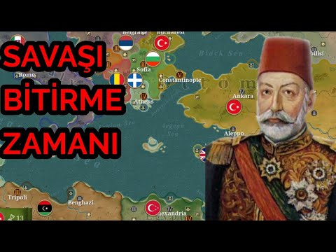 Türkler Tekrar Cezayir De.. European War 6 1914. Osmanlı Devleti